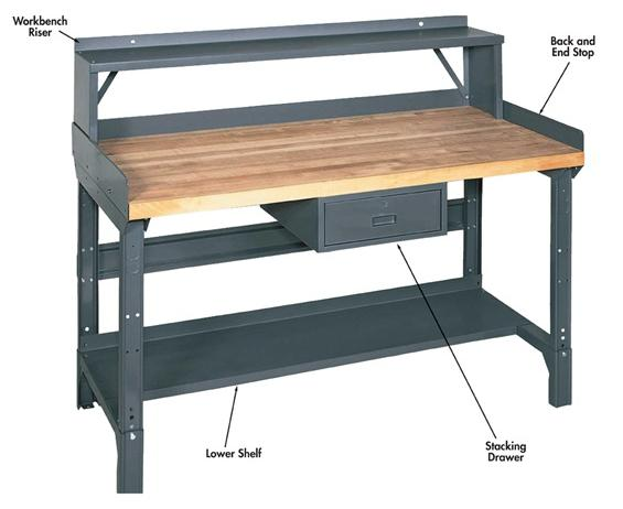 Pleasing Heavy Duty Workbench Accessories Ocoug Best Dining Table And Chair Ideas Images Ocougorg